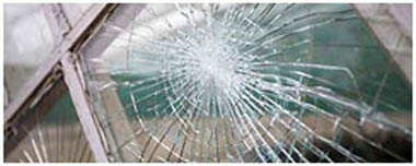 Mansfield Woodhouse Smashed Glass